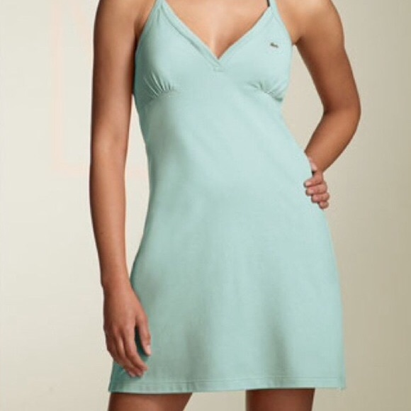 Lacoste Dresses & Skirts - Lacoste halter dress